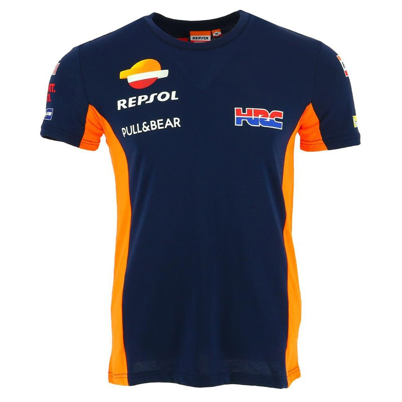 Moto GP Man's Repsol Gas T-Shirts