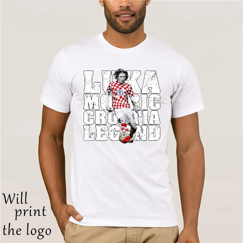 Luka Modric Croatia Player T-Shirt