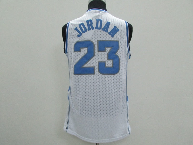 #23 Michael Jordan North Carolina UNC Tar Heels College 100% Stitched basketball Jersey