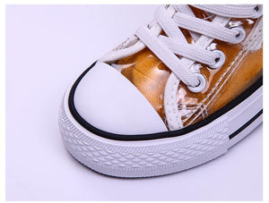 Kids Trasparent PVC Shoes - cybershoestore.com