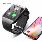 Bluetooth Smart Watch  for Apple Watch with Camera 2G SIM TF Card Slot Smartwatch Phone for Android IPhone Xiaomi Russia T15
