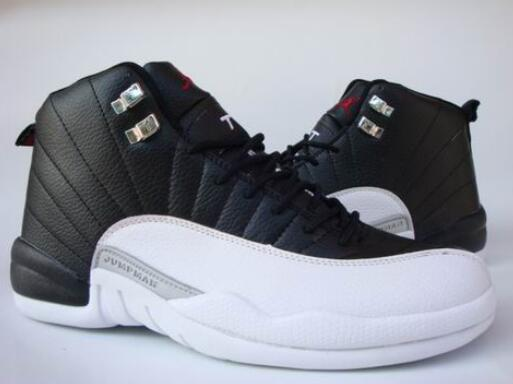 Jordan 12 Basketball Shoes Aj12 Low Help Jordan Sneakers Men Basketball Shoes Gamma Blue Jordan 12 Size:41-47 - cybershoestore.com