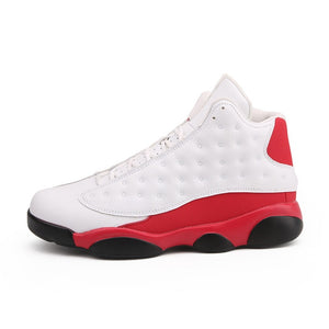 High Top Mens Basketball Shoes Jordan Retro Basketball Boots Breathable Nonslip Lace Up White Trainers Zapatillas Sneakers Cheap - cybershoestore.com