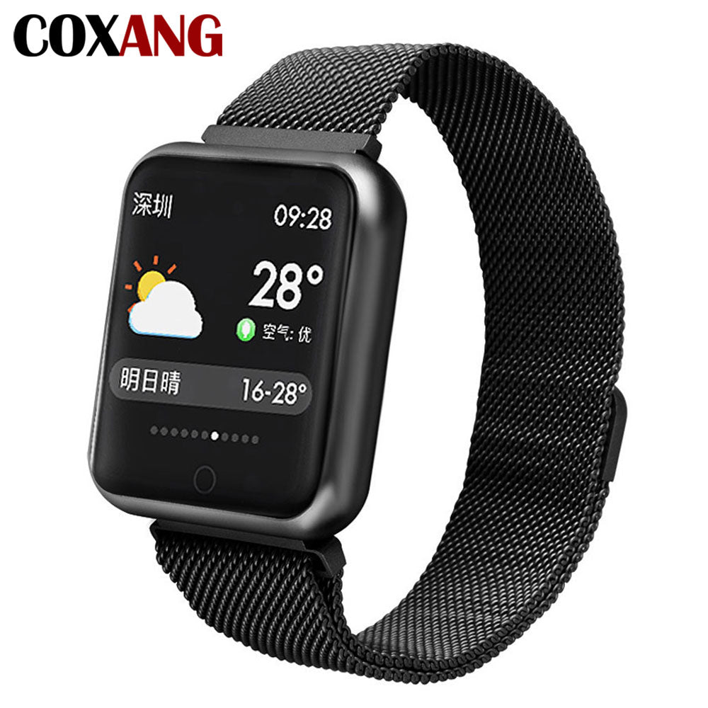 Smart Watch For Men Blood Pressure Pedometer Activity Tracker  Waterproof Smartwatch For Apple IOS Iphone Android