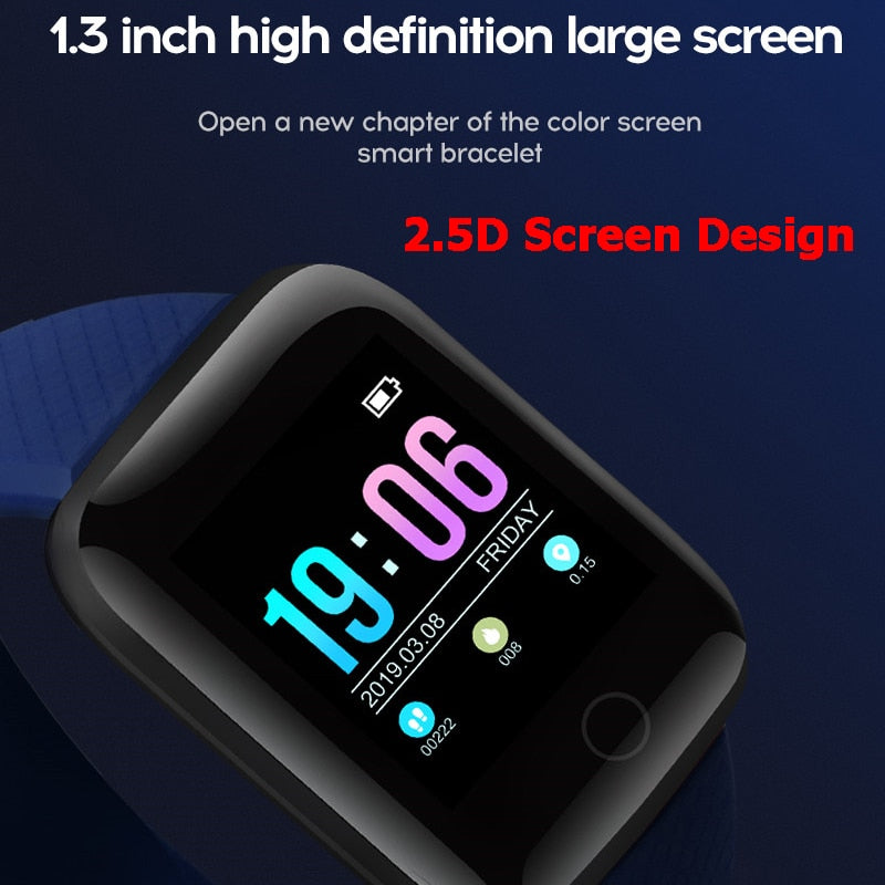 Smart Watch Men IP67 Waterproof Heart Rate Monitor Smartwatch Women For Android IOS Apple Watch Phone - cybershoestore.com