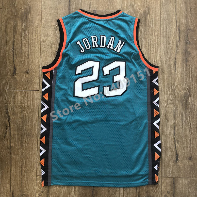 Mens #23 Michael Jordan 1996 All Star Throwback Basketball Jersey US Size S-XXL - cybershoestore.com