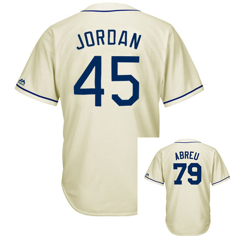 hot sale Men's jordan Jose Abreu Michael Majestic Cream Fashion Cool Base Player Jersey 100% Stitched jerseys fast shipping