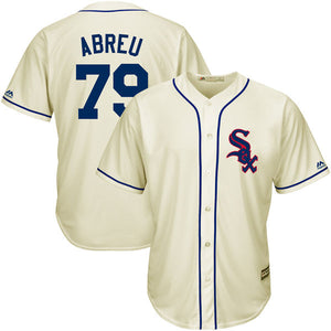 hot sale Men's jordan Jose Abreu Michael Majestic Cream Fashion Cool Base Player Jersey 100% Stitched jerseys fast shipping - cybershoestore.com