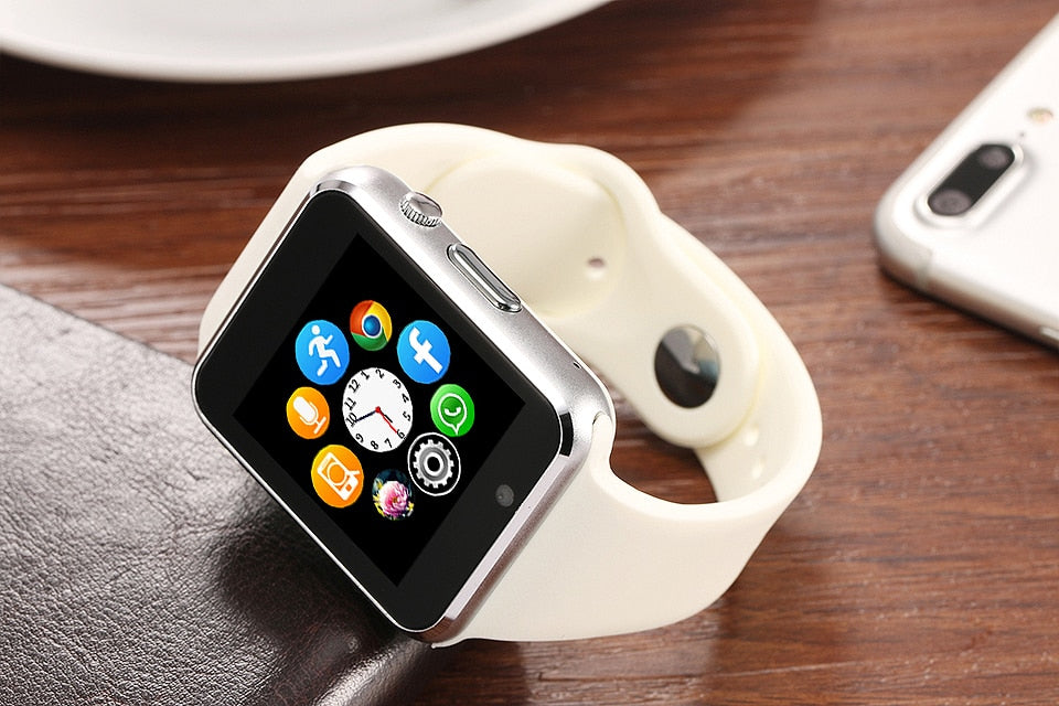 Smart Watch Men For Android Phone Apple Watch Support 2G Sim TF Card 0.3MP Camera Bluetooth Smartwatch Women Kids - cybershoestore.com