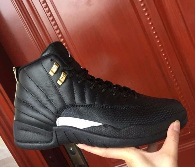 Jordan 12 Basketball Shoes Low Help Jordan Sneakers Men Basketball Shoes Gamma Blue - cybershoestore.com
