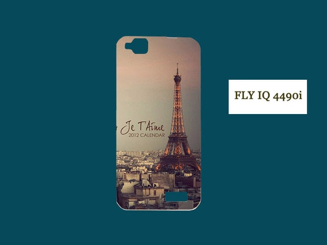 Phone Back Case  SOFT TPU back Cover Nano Butterfly Eiffel Tower Lion Painted Case Free Shipping - cybershoestore.com
