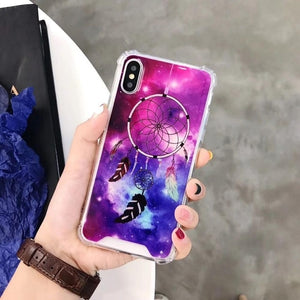 Anti Gravity Case For iPhone 8 Plus X 8 7 6 6S Plus Nano Suction Adsorbable Phone Cases For iPhone 7 Plus Shockproof EEMIA - cybershoestore.com
