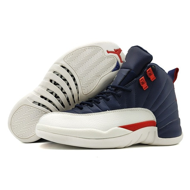 Jordan 12 XII Man Basketball Shoes Bordeaux Doernbecher Vachetta Outdoor Retro Sport Sneakers - cybershoestore.com