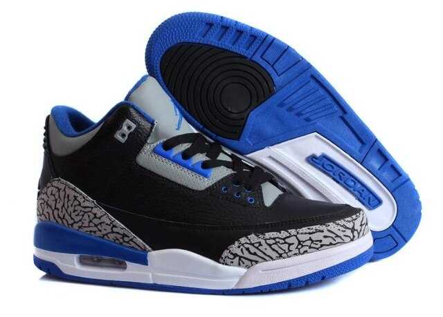Jordan Air Retro 3 Basketball Shoes Low Help Sneakers Men Basketball Shoes Jordan - cybershoestore.com