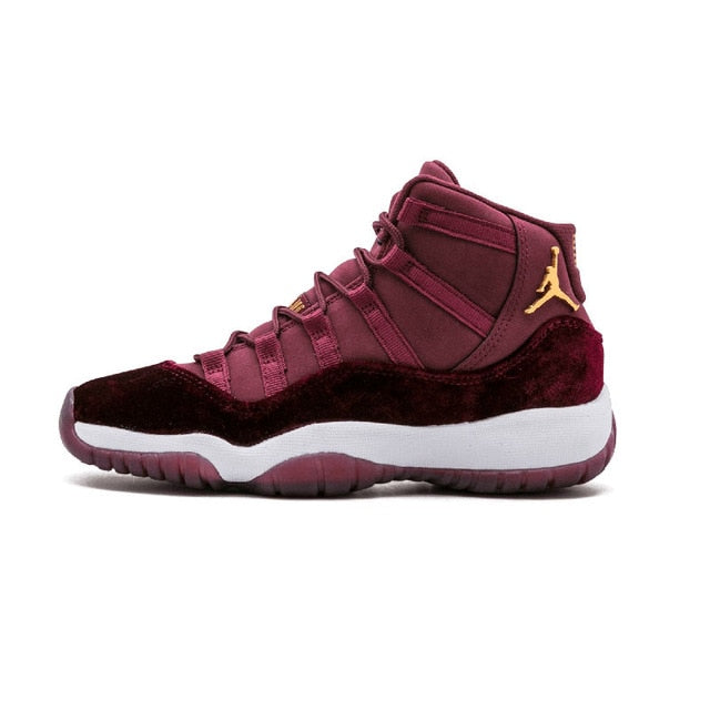 Jordan Retro 11 New Arrival Authentic Red Velvet Men Basketball Shoes Outdoor Sport Shoes Trainer Sneaker - cybershoestore.com