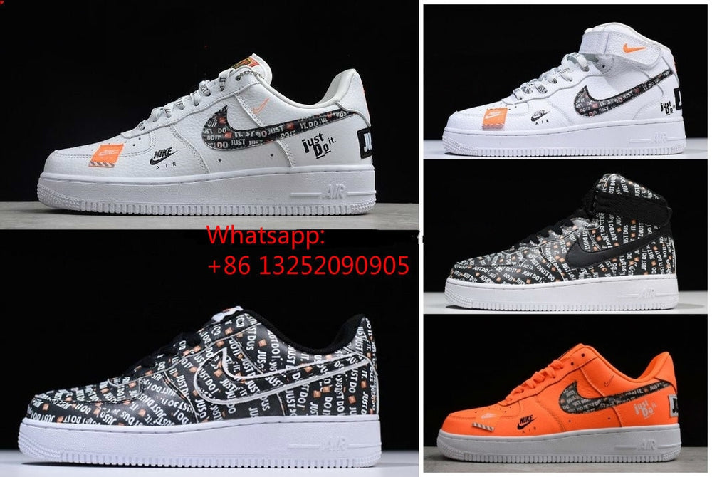 2019 Air Force 1 07 Lv8 Jdi Just Do It Af1 One Mens Women High Low Sneakers Shoes
