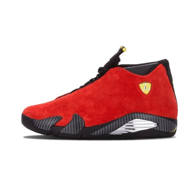 Jordan Retro 14 Men Basketball Shoes Red Suede Black Toe Blue Suede Thunder Yellow DESERT SAND Athletic Outdoor Sport Sneaker - cybershoestore.com