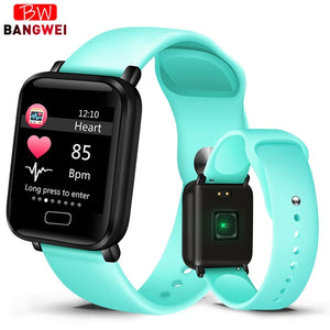 2019 New Women Smart watches Waterproof Sports For Iphone phone Smartwatch Heart Rate Monitor Blood Pressure Functions For kid - cybershoestore.com