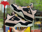 2019 New pattern Jordan 4 retro woman Men basketball shoes sneakers Silt Red AJ4 Black Powder Marble Lovers shoes