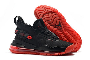 New high-quality original men's jordan Joint name 720 homme retro  basketball shoes sneakers Lovers shoes Black red - cybershoestore.com