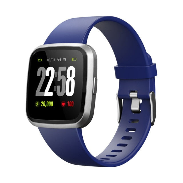 New Women Watches V12C Smart Watch Bracelet Fitness Tracker Blood Pressure Heart Rate Pedometer - cybershoestore.com
