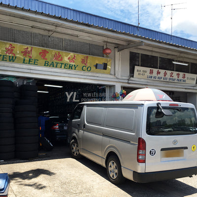 Toyota - Light Truck - Yokohama RY55 Tyre - Yew Lee Battery - Bukit Merah Lane 3 - Alexandra Village - Singapore - Queenstown