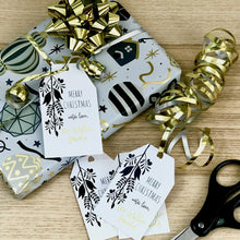 Load image into Gallery viewer, Complete Set of Personalized Christmas Gift Tags