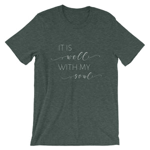 It is Well With My Soul Short-Sleeve Unisex T-Shirt