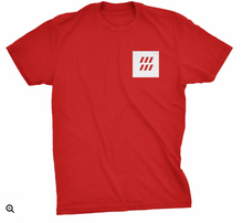 Bleed T-Shirt Red, White or Black