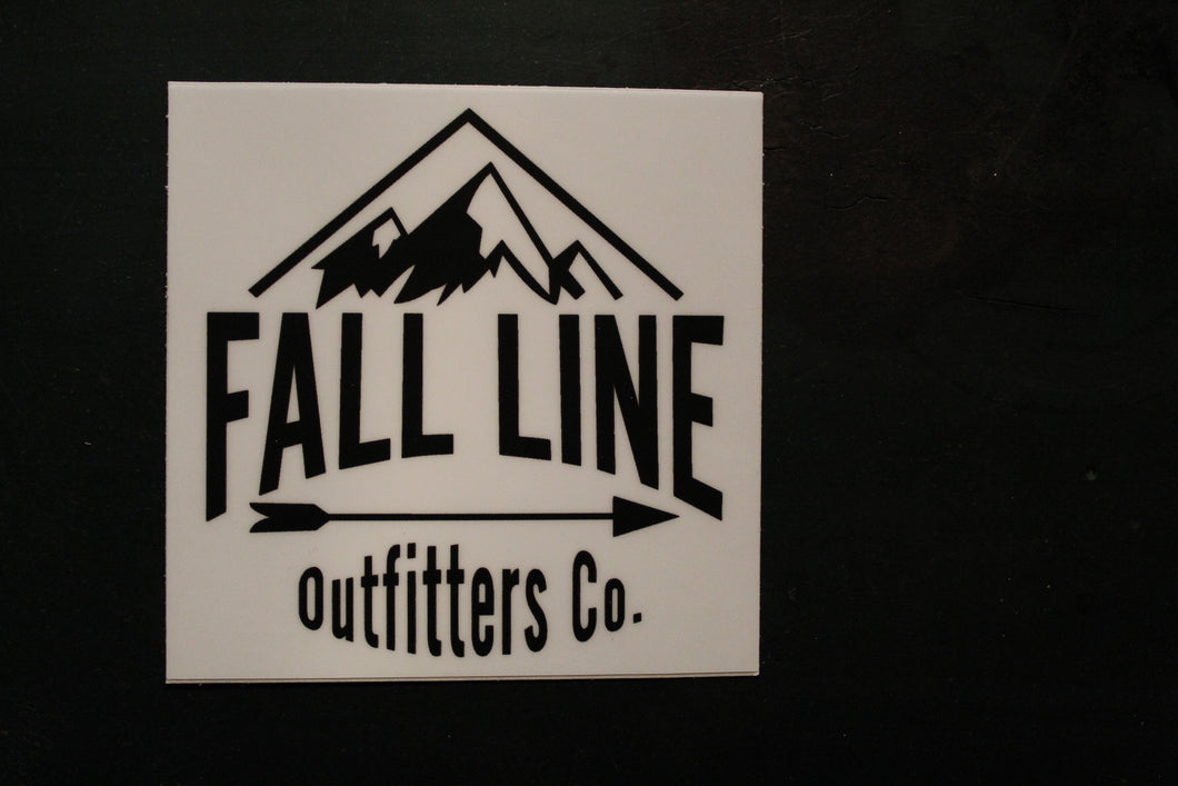 Fall Line Outfitters Sticker 3inch