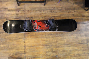 "Used ""Never Summer"" Snowboard"