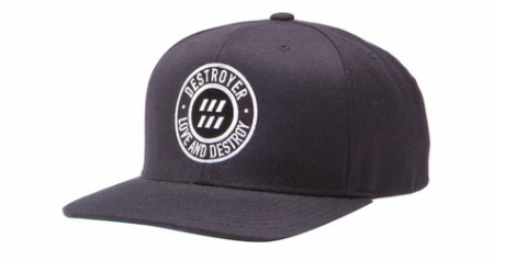 Love and Destroy Snap Back Hat