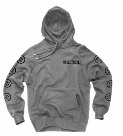 Mixed up Hoodie Grey or Black