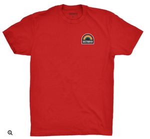 Youth Sunbuster T-Shirt Black or Red