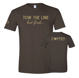 But First Coffee! Soft-T, T-Shirt