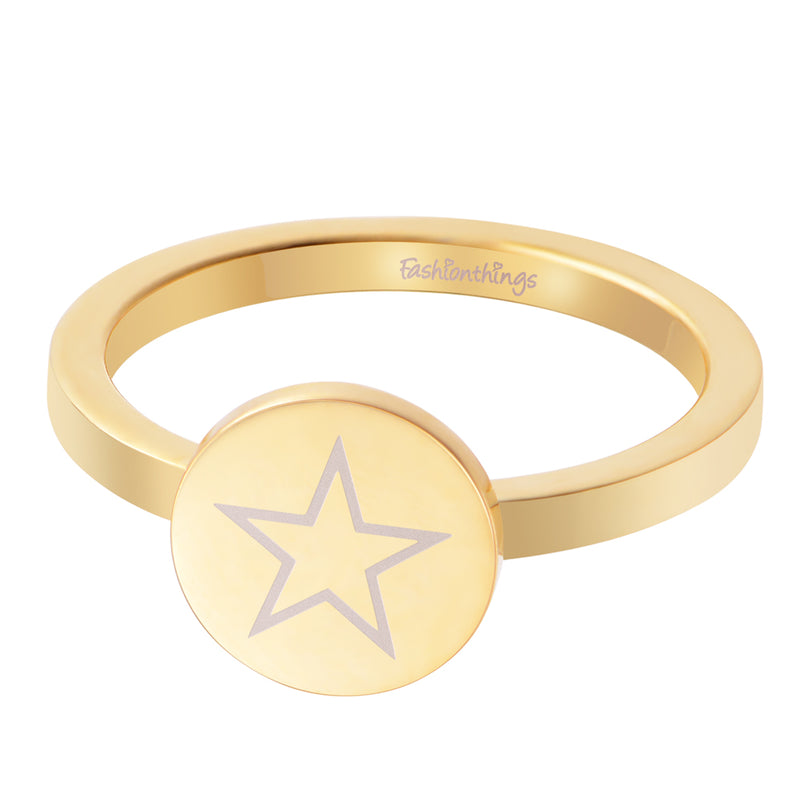 Shining Star Ring Gold