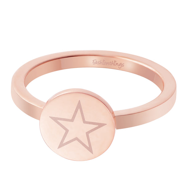 Shining Star Ring Rose Gold