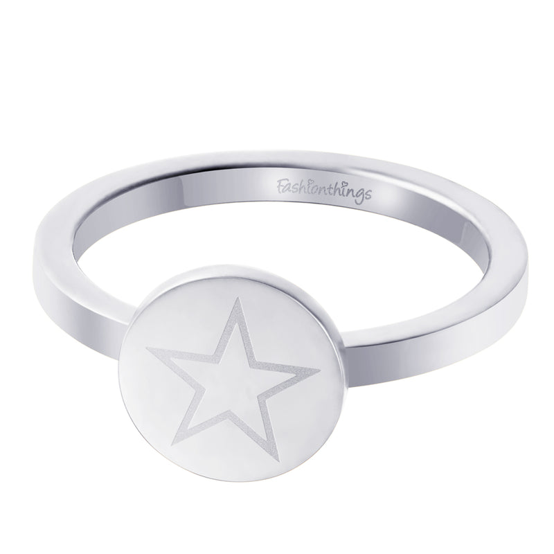 Shining Star Ring Silver