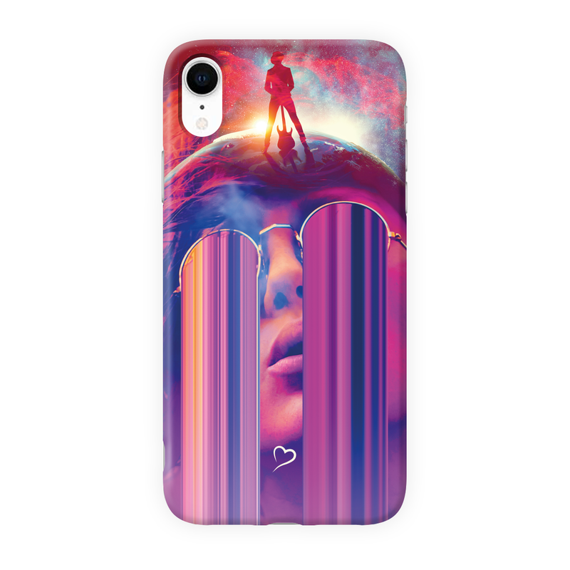 Music is my destiny Eco-friendly iPhone cover
