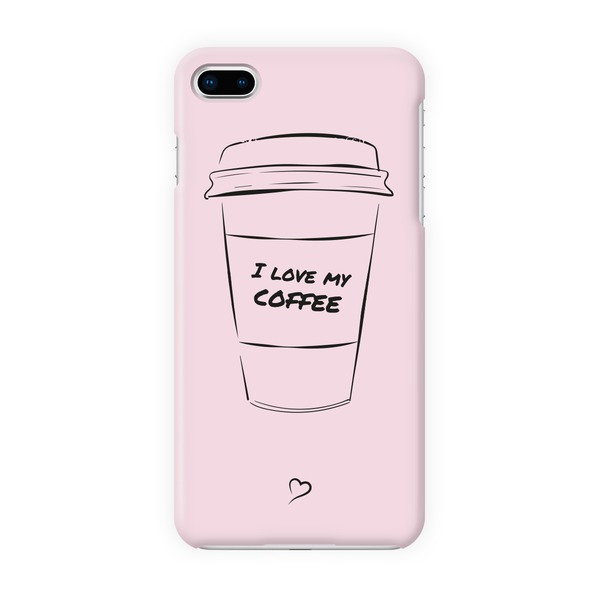 I love my coffee Eco-friendly iPhone cover