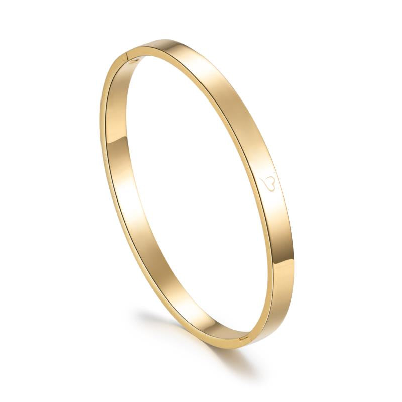 Basic Bangle Gold 6mm