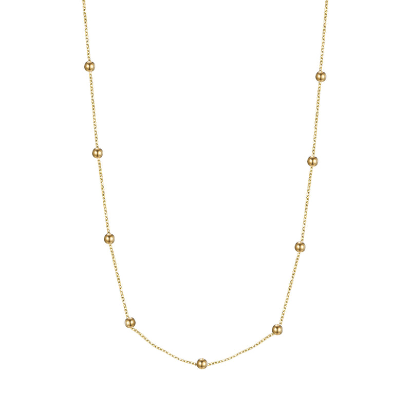 Love the Dots Necklace Gold
