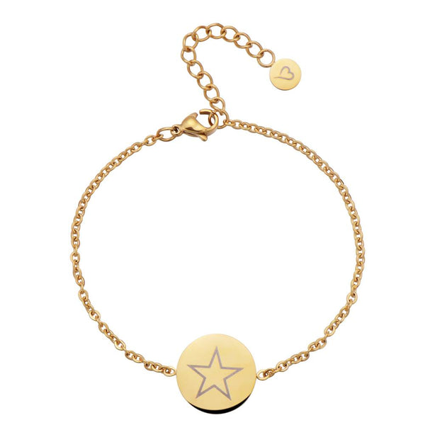 Shining Star Anklet Gold