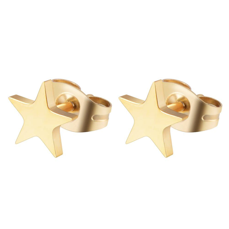 Make A Wish Earrings Gold
