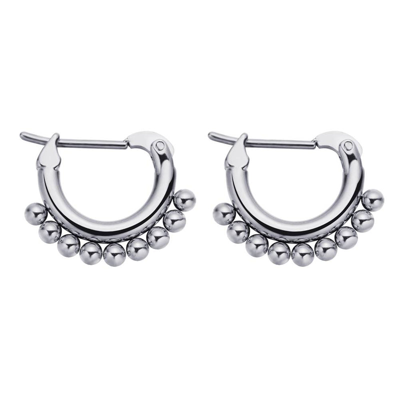 Connect The Dots Earrings Silver