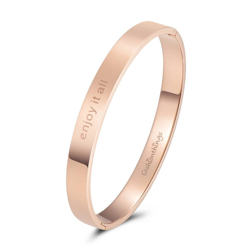 Bangle Enjoy It All Rose Gold 8mm