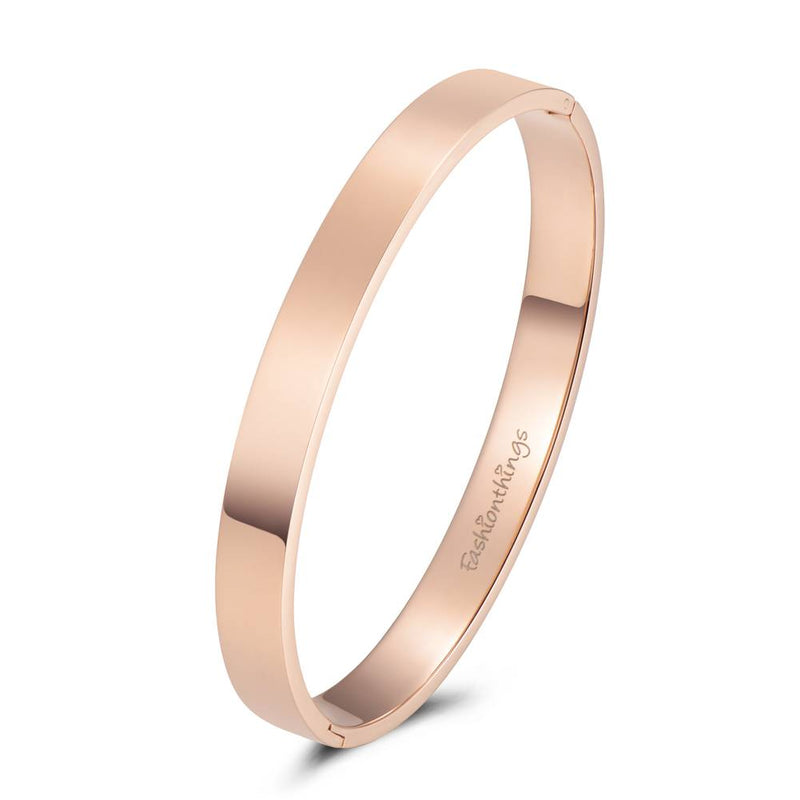 Bangle Basic Rose Gold 8mm