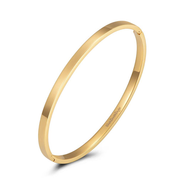 Bangle Basic Gold 4mm