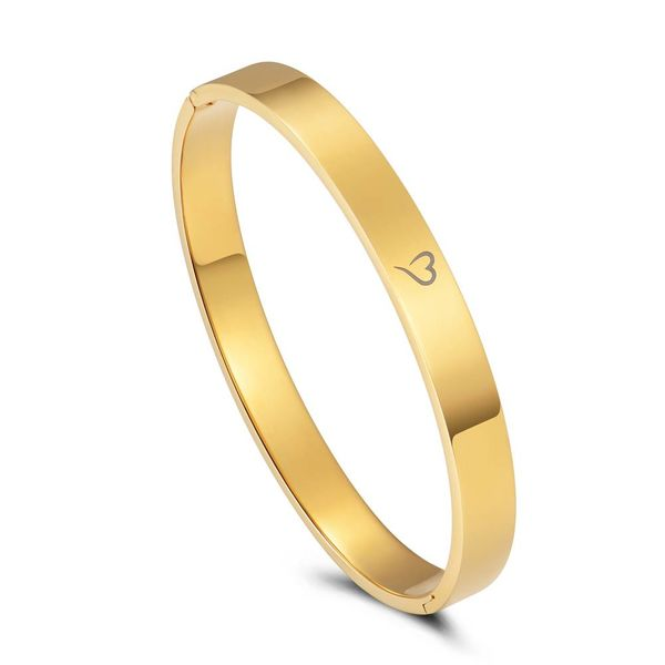 Bangle Enjoy It All Gold 8mm