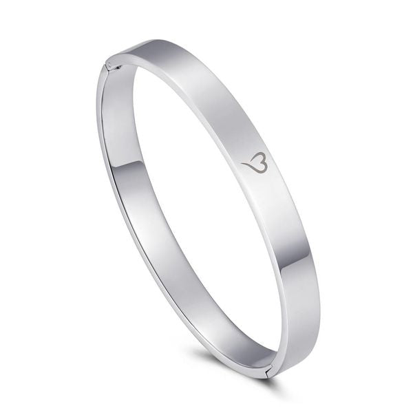 Bangle Basic Silver 8mm